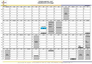 vakantie & rv-dagen 2018-2019