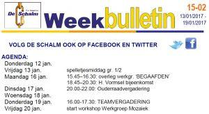 weekbulletin 02 - 2016