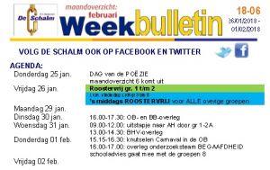 weekbulletin 04 - 2018