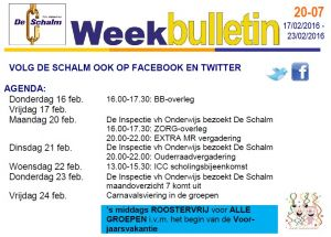 weekbulletin 20-07