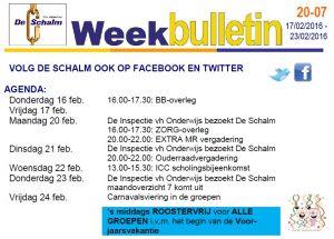 weekbulletin 20-07