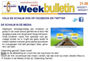 weekbulletin 08 - 2017