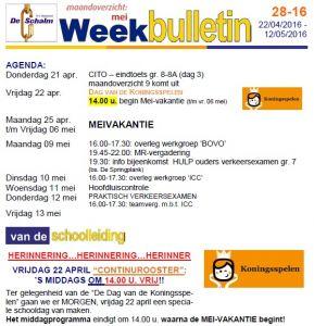 weekbulletin 16 - 2016 BLADER VERSIE