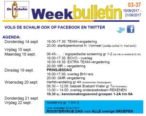 weekbulletin 03 - 37