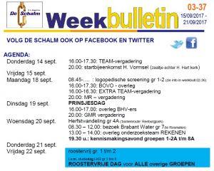 weekbulletin 03 - 37