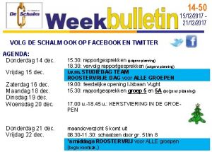 weekbulletin 50 - 2017